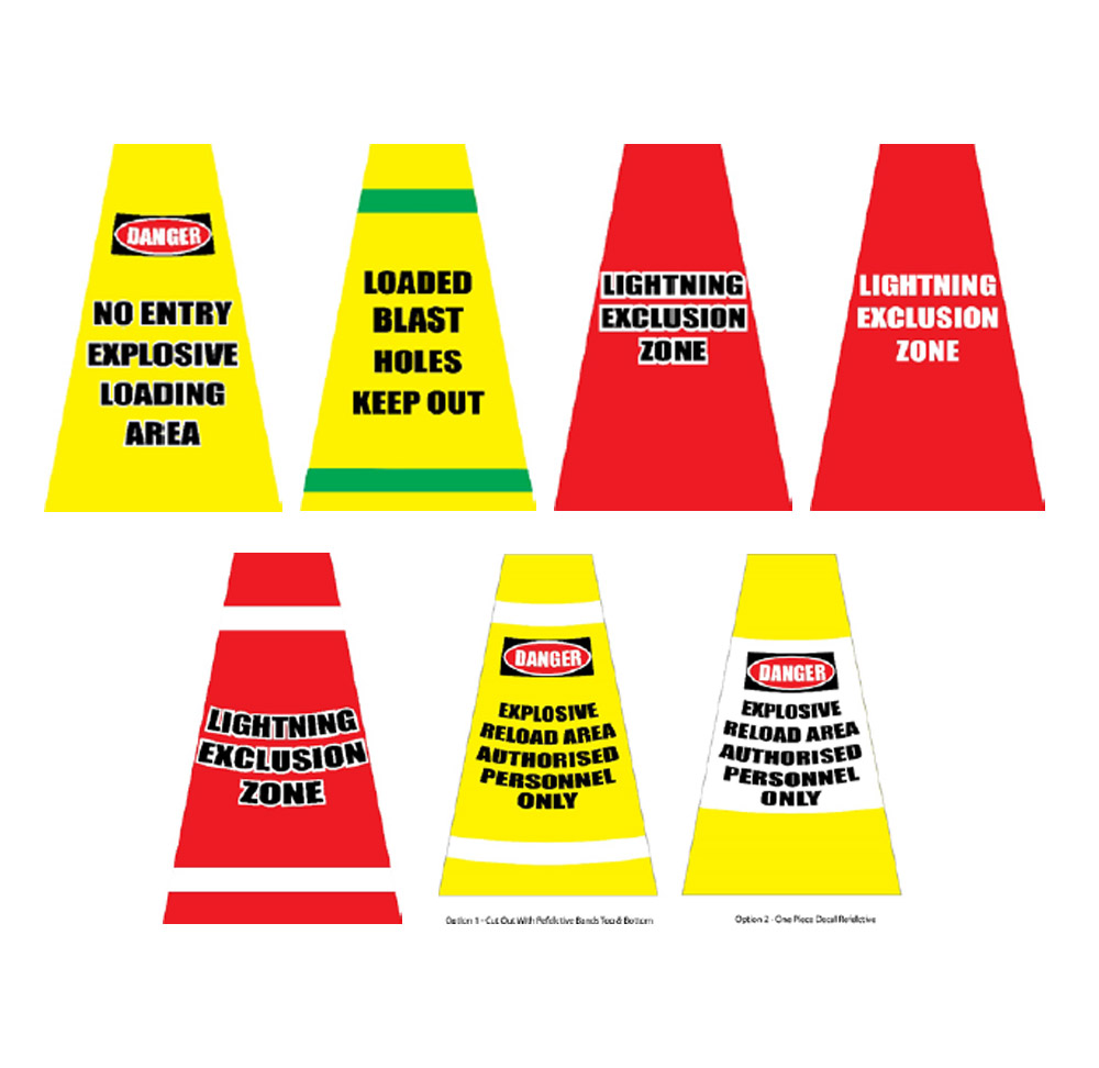 Safety Cones - Examples