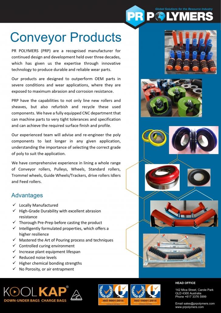 PR Polymers Conveyor