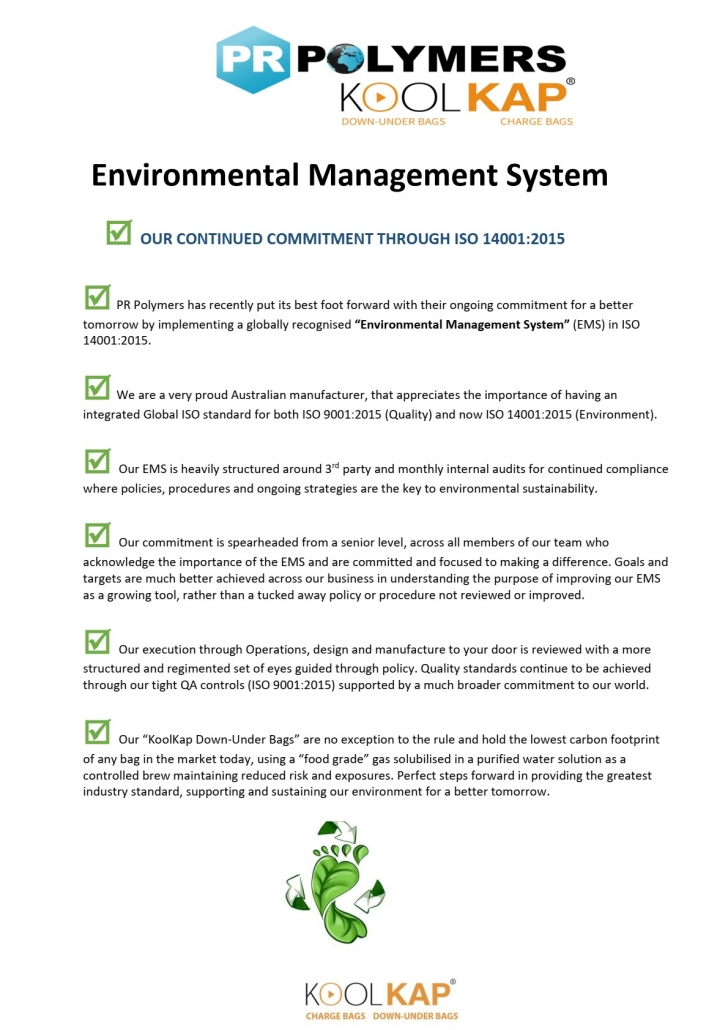 ISO 14001 Policy
